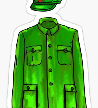 Mao Suit Sticker