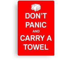 Carry A Towel Canvas Print