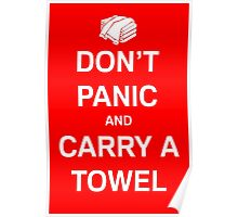 Carry A Towel Poster