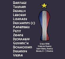France 1998 World Cup Final Winners Unisex T-Shirt