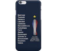 France 1998 World Cup Final Winners iPhone Case/Skin