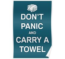 Take Your Towel Everywhere Poster