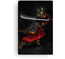Korean Swordsman Canvas Print
