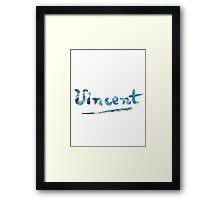 Vincent - Starry Night Framed Print