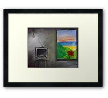 Inside Out Framed Print