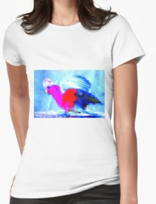 Cocky Fella Womens Fitted T-Shirt