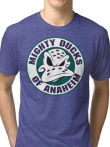 Mighty Ducks of Anaheim Movie NHL Hockey League Tri-blend T-Shirt