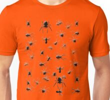 Creepy Spiders Pattern Unisex T-Shirt