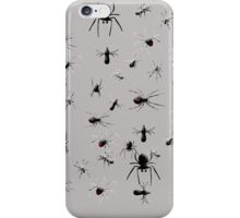 Creepy Spiders Pattern iPhone Case/Skin