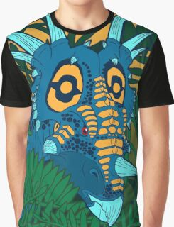 Styracosaurus Jungle Graphic T-Shirt