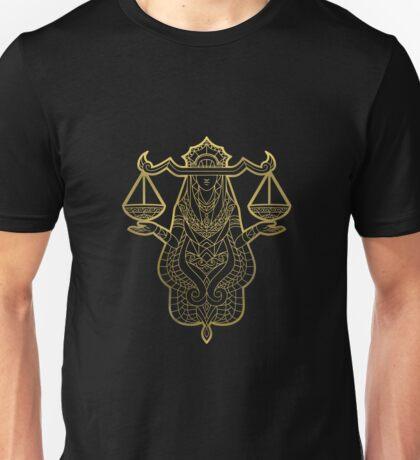 Libra gold Unisex T-Shirt