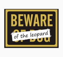 Beware of the Leopard Baby Tee