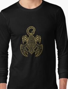 Scorpio gold Long Sleeve T-Shirt