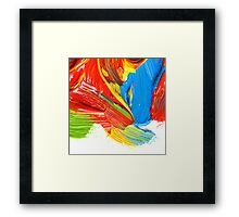 Colorful You Framed Print