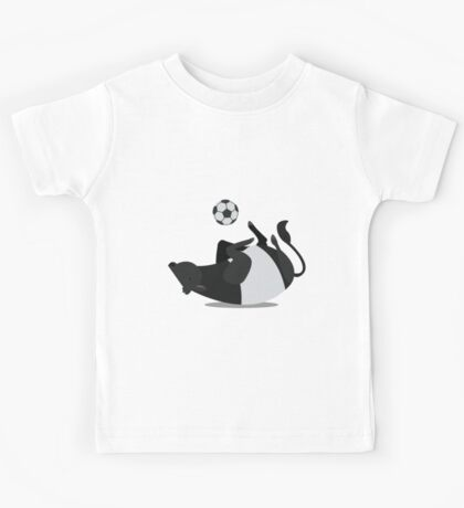 Cows are the best at playing football Kids Tee