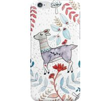 Woodland Deer Party iPhone Case/Skin