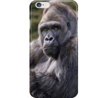 Gorilla portrait iPhone Case/Skin