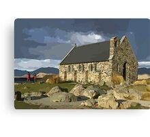Tekapo's Famous Church Canvas Print