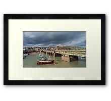 Folkestone Harbour Framed Print