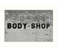 Body Shop Art Print
