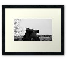 Cannon at Bornholm (Denmark)  Framed Print