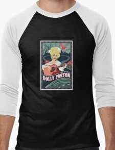 Dolly Parton Men's Baseball ¾ T-Shirt