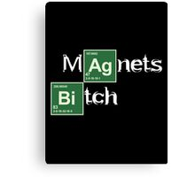 Magnets Bitch (Breaking Bad) Canvas Print