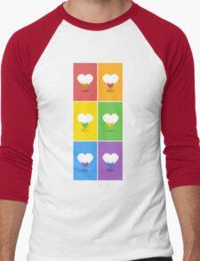 Color Me Loved Men's Baseball ¾ T-Shirt
