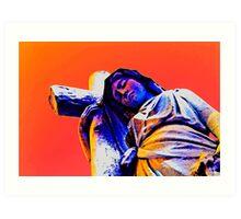 Virgin Mary - Keeping the Faith Art Print