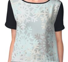 Blizzard by Anne Winkler Chiffon Top