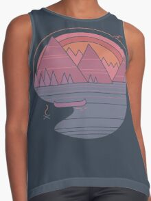The Mountains Are Calling Contrast Tank