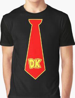 Donkey Kong Tie Graphic T-Shirt