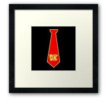Donkey Kong Tie Framed Print