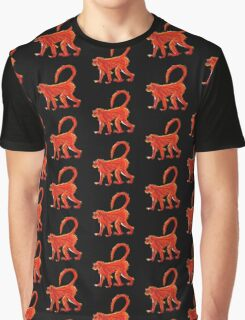 Fire Monkey by Anne Winkler Graphic T-Shirt