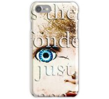 Doll Parts Dressed in Glass iPhone Case/Skin