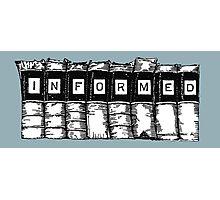 Informed - Books Photographic Print