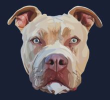 Pitbull Dog Kids Tee