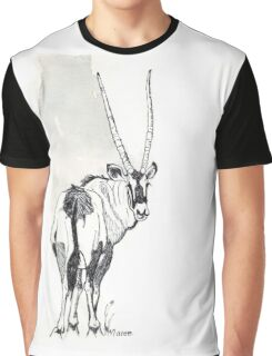 Typical of the Gemsbok Graphic T-Shirt