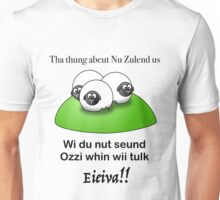 Kiwi's and Auzzies sound different Unisex T-Shirt