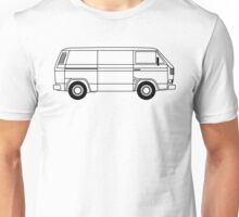 Transporter Line Art Type 25, T3 or Vanagon Unisex T-Shirt