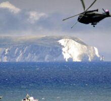 Chopper Over The Needles Sticker