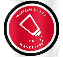 Western Salty Wanderers FC Poster