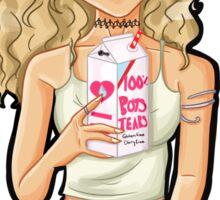 100% boys tears - P.E Sticker