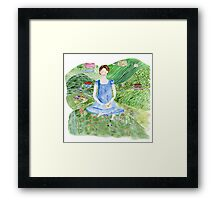 Jane Bennett, Pride and Prejudice and Yoga  Framed Print