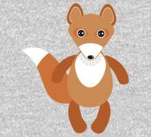 Cute fox pattern Kids Tee