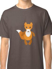 Cute fox pattern Classic T-Shirt