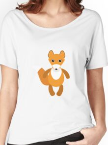 Cute fox pattern Women's Relaxed Fit T-Shirt