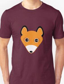 Cute fox face pattern Unisex T-Shirt