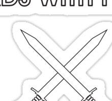Swords with Friends Sticker