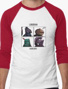 Dark Days Men's Baseball ¾ T-Shirt